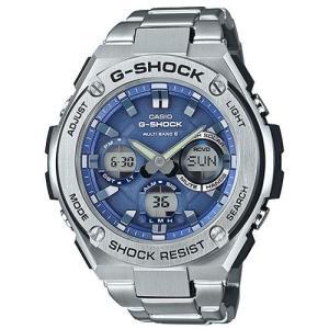CASIO GST-W110D-2AJF G-SHOCK(ジーショック) G-STEEL ソーラー メンズ|ebest