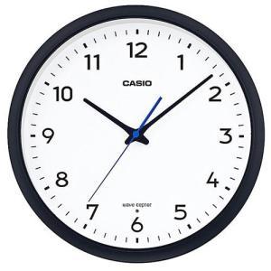 CASIO IQ-1013J-1JF(ブラック) 電波掛け時計