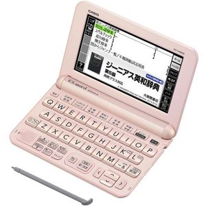 CASIO XD-G4800PK(ライトピンク) EX-word(エクスワード) 高校生モデル|ebest
