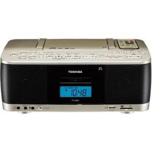 東芝 TY-CDX9-N(サテンゴールド) CDラジオカセットレコーダー ワイドFM対応|ebest