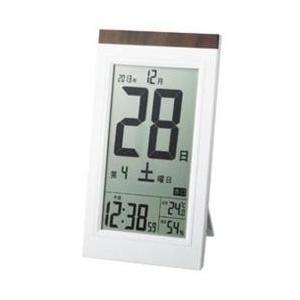 アデッソ KW9254(白) 日めくり電波時計の関連商品5