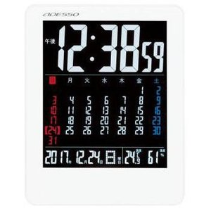 アデッソ NA-929 電波目覚まし時計...