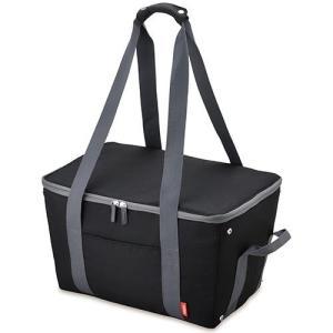 サーモス REJ-025-BK(ブラック) 保冷買い物カゴ用バッグ 25L ebest