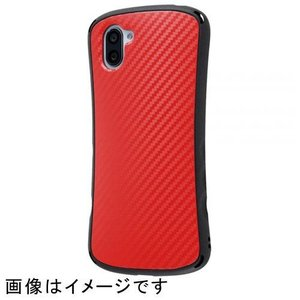 ray-out RT-AQR3SC5/CR(カーボンレッド) AQUOS R3用 耐衝撃ケース Game Curve ebest