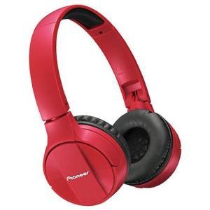 パイオニア SE-MJ553BT-R(レッド) Bluetoothヘッドホン ヘッドバンドタイプ|ebest