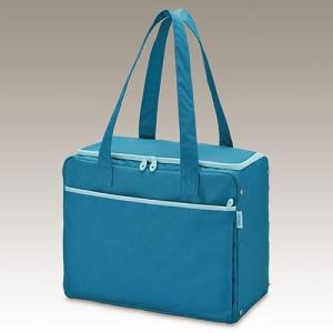 サーモス RED-022-BL(ブルー) 保冷ショッピングバッグ 22L ebest