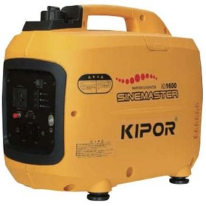 パワーテック IG1600 KIPOR(キポー) インバーターガソリン発電機 単相100V 2口 ebest