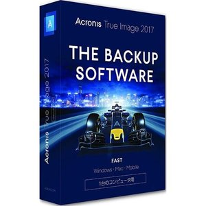 Acronis True Image 2017 - 1 Computer 通常版 Win&Mac&Android