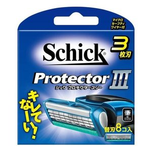 Schick プロテクタースリー 替刃(8コ入)|ebest