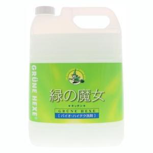 ミマスクリーンケア 緑の魔女 キッチン用洗剤 業務用 5L|ebest
