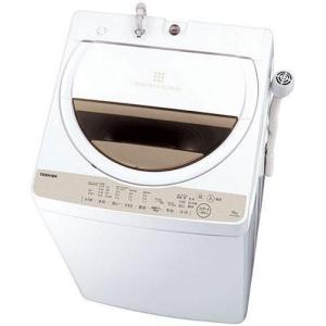 東芝 AW-6G5-W(グランホワイト) 全自動洗濯機 上開き 洗濯6kg|ebest
