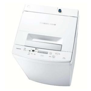 東芝 AW-45M7-W(ピュアホワイト) 全自動洗濯機 上開き 洗濯4.5kg|ebest
