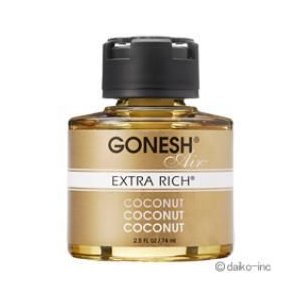 エステーオート 307102 GONESH(ガーネッシュ) リキッドエアフレッシュナー COCONUT 74ml|ebest