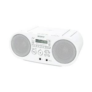 ソニー ZS-S40-W(ホワイト) CDラジオの商品画像