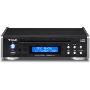 TEAC PD-301-B(ブラック) ワイドFMチューナー搭載CDプレーヤー|ebest