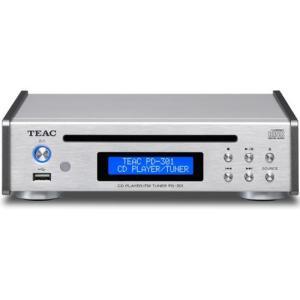 TEAC PD-301-S(シルバー) ワイドFMチューナー搭載CDプレーヤー|ebest