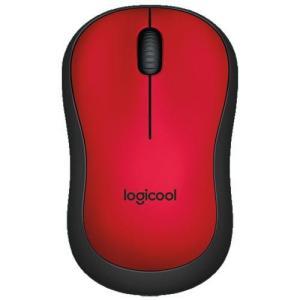 ロジクール M221RD(レッド) USB ワイヤレス光学式マウス 無線(2.4GHz)接続 3ボタン|ebest