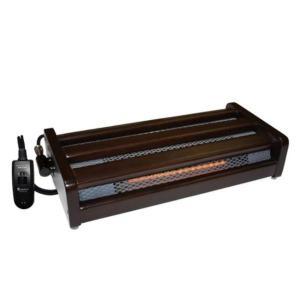 メトロ MFH-181ET 木枠フットヒーター 1灯式 手元電子コントローラー式 180W