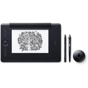 ワコム PTH-660/K1(ブラック) Intuos Pro ワイヤレス ペンタブレット Paper Edition Medium|ebest