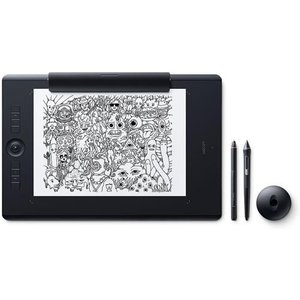 ワコム PTH-860/K1(ブラック) Intuos Pro ワイヤレス ペンタブレット Paper Edition Large|ebest