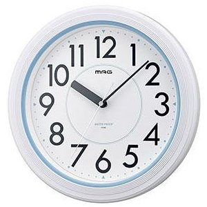ノア精密 W-662 WH-Z(ホワイト) 掛け時計の関連商品2