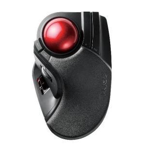 エレコム M-HT1DRBK トラックボールマウス 大玉 8ボタン チルト機能 無線 ブラック ebest