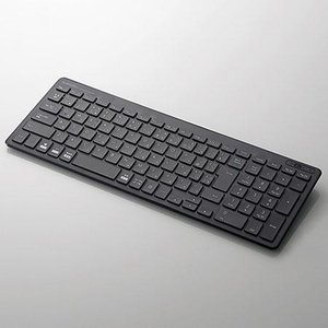 エレコム TK-FBP101BK(ブラック) 無線キーボード 日本語配列|ebest