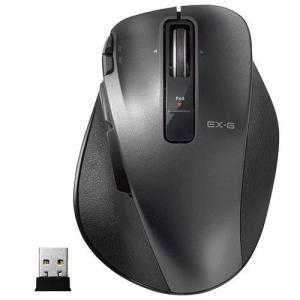 エレコム M-XGL20DLBK(ブラック) USB レーザー方式マウス 8ボタン|ebest