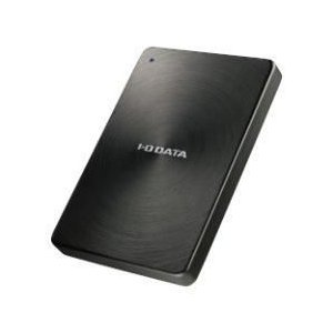 IODATA HDPX-UTA1.0K(ブラック) ポータブルHDD 1TB USB3.0接続