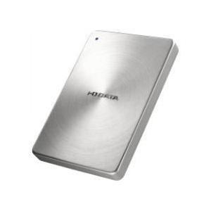 IODATA HDPX-UTA1.0S(シルバー) ポータブルHDD 1TB USB3.0接続