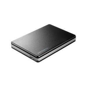 IODATA HDPF-UT1.0KC(ブラック) ポータブルHDD 1TB USB3.0接続 超高速カクうすLite