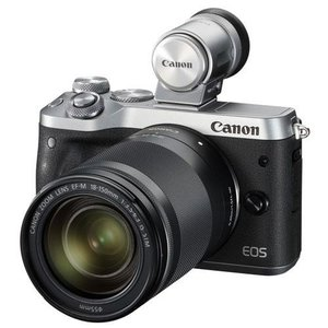 CANON EOS M6 EF-M18-150 IS STM レンズEVFキット(シルバー)|ebest