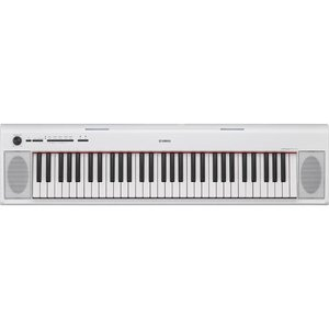 ヤマハ NP-12WH(ホワイト) piaggero(ピアジェーロ) 電子キーボード 61鍵盤|ebest