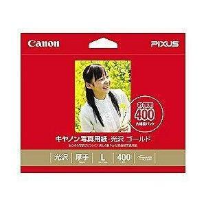 CANON GL-101L400 写真用紙 光沢 ゴールド L判 400枚|ebest