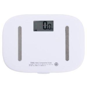 オーム電機 HBK-T100-W(ホワイト) デジタル体重計 08-0028|ebest