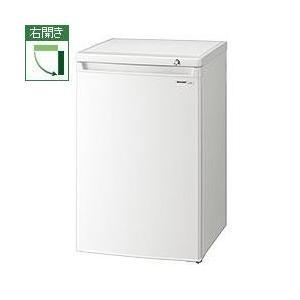 シャープ FJ-HS9X-W(ホワイト) 直冷式 1ドア冷凍庫 右開き 86L|ebest