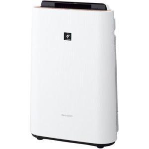 シャープ KC-G40-W(ホワイト) プラズマクラスター加湿空気清浄機 空気清浄18畳/加湿11畳|ebest