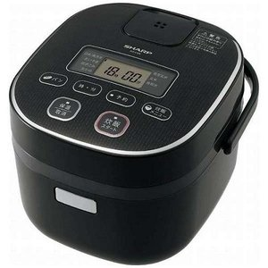 シャープ KS-C5K-B(ブラック) ジャー炊飯器 3合|ebest