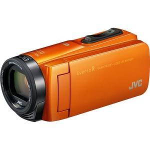 JVC GZ-RX670-D(サンライズオレンジ) Everio R(エブリオ R) ビデオカメラ 防水モデル 64GB|ebest