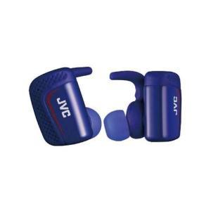 JVC HA-ET900BT-A(ブルー) ワイヤレスステレオヘッドセット 完全ワイヤレスタイプ|ebest