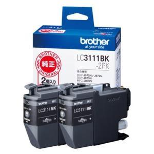 ブラザー LC3111BK-2PK 純正 インクカートリッジ ブラック 2個パック|ebest