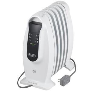デロンギ NJ0505E(ピュアホワイト+ブラック) オイルヒーター 500W|ebest