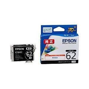 エプソン ICBK62 純正 インクカートリッジ ブラック|ebest