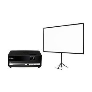 エプソン EH-DM3S dreamio DVD一体型 2000lm QHD スクリーンセットモデル|ebest