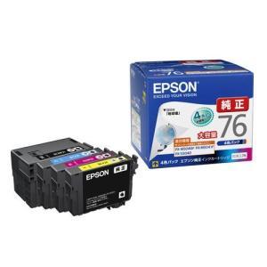 エプソン IC4CL76 純正 インクカートリッジ 4色パック 増量タイプ|ebest