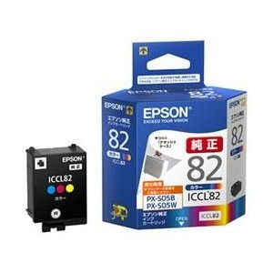 エプソン ICCL82 純正 インクカートリッジ 3色カラー|ebest