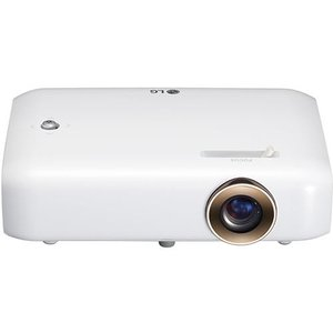 LGエレクトロニクス PH550G(ホワイト) Minibeam(ミニビーム) LEDプロジェクター 550lm HD|ebest