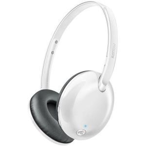 フィリップス SHB4405WT(ホワイト) ワイヤレス Bluetoothヘッドホン|ebest