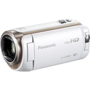 【長期保証付】パナソニック HC-W580M-W(ホワイト) ワイプ撮り デジタルハイビジョンビデオカメラ 32GB