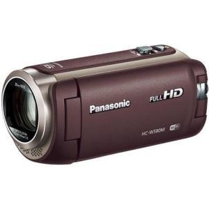 【長期保証付】パナソニック HC-W580M-T(ブラウン) ワイプ撮り デジタルハイビジョンビデオカメラ 32GB